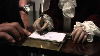 Jaquet Droz The Writer Automaton From 1774 In Action: Inspired Hugo Movie