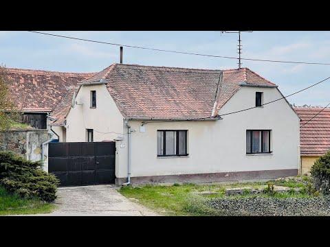 Video Na prodej rodinný dům 2725m2, Grešlové Mýto, okr. Znojmo