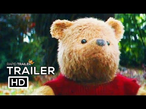 CHRISTOPHER ROBIN Official Trailer (2018) Disney Live Action Winnie The Pooh Movie HD