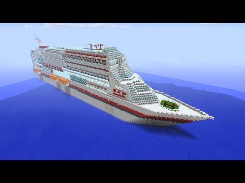 Minecraft Xbox - Massive Cruise Ship