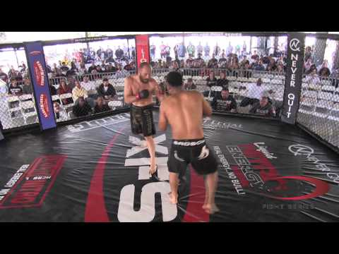 Beau Hart vs Jose Aparacio Xplode Amateur Fight Series March 16, 2013 REVANCHA!