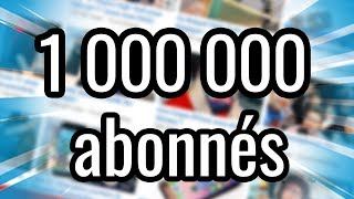 Video 1 Million d'Abonnés ! MERCI MP3, 3GP, MP4, WEBM, AVI, FLV Agustus 2017