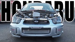 """""""HondaRu...The K-Series Powered WRX STI by 1320Video"""