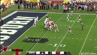 Nick Marshall vs Wisconsin (2014)