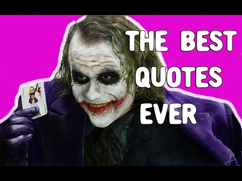 Good quotes - The best Quotes ever with Joker music
