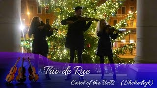 Video Trio de Rue - Shchedryk (Carol of the Bells)