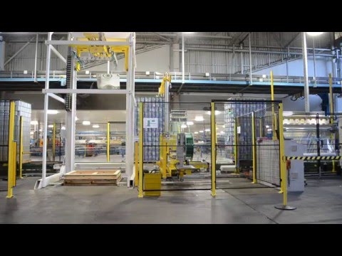 Fromm custom installs automatic packaging line to increase efficiency