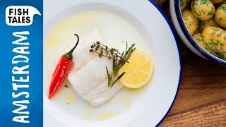 Confit of COD | Bart van Olphen by Bart's Fish Tales