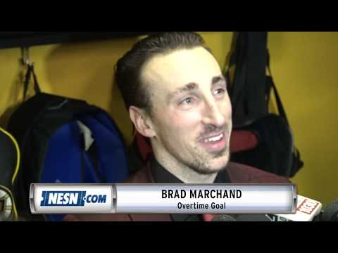 Video: Brad Marchand Notches Game Winner In OT