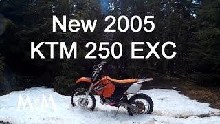 7. 2005 KTM 250 EXC