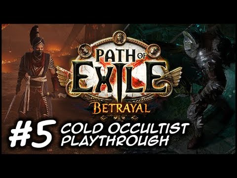 ZIGGYD Plays Path Of Exile: BETRAYAL - (Now 1080p) Not Fair At All - #5 Act 4
