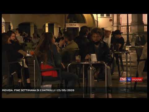 MOVIDA: FINE SETTIMANA DI CONTROLLI   23/05/2020