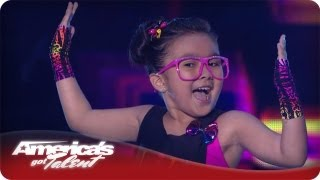 This 6 Year Old Has Some Killer Dance Moves -  America's Got Talent Season 7 Lil Starr Quarterfinals