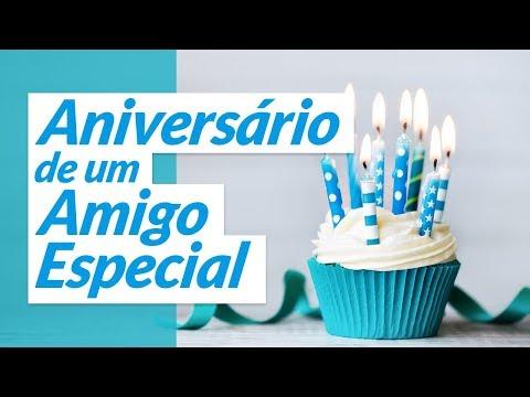Msg de aniversário - Aniversário de um amigo especial
