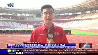 Video Stadion GBK Kini Modern dan Mewah Usai Disentuh Pemerintah MP3, 3GP, MP4, WEBM, AVI, FLV Oktober 2018