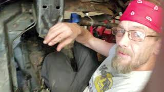 305 motor pulled and now check out this old truck and cleaning and painting by theTIVANshow