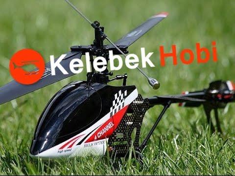 RC Helikopter   Süper Stabil   Tek Rotorlu   Sağlam Outdoor Model