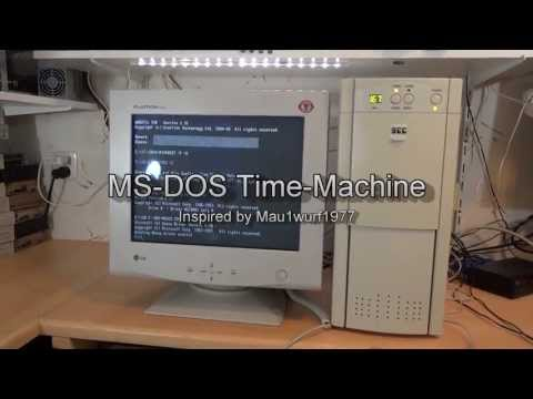 MS DOS - In this video I build my MS-DOS time machine! Mau1wurf1977 his youtube channel!! Go check it out! and say that I send you ;-) http://www.youtube.com/user/Mau...