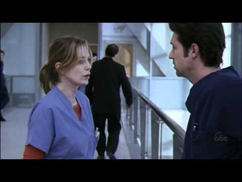 derek & meredith   anatomia de grey 1x05
