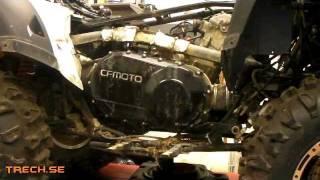 9. kopplingsbyte CF Moto