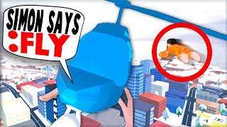 FLYING PRISONERS IN JAILBREAK!! *ROBLOX SIMON SAYS*