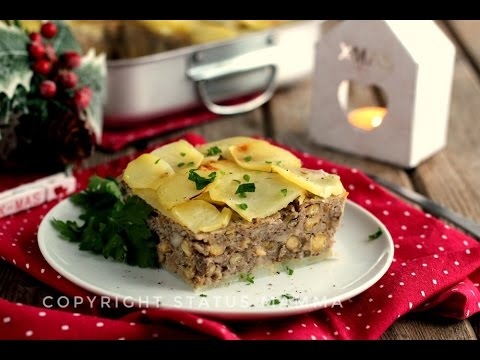 polpettone vegetariano senza carne di legumi e patate - ricetta