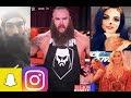 WWE Snapchat/IG ft. Paige, Braun Strowman, Charlotte, Luke Harper, Bayley, Renee Young n MORE