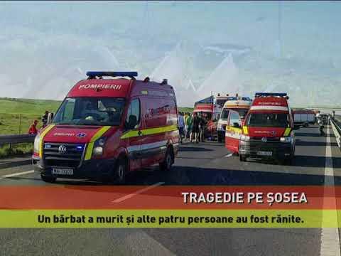 Accident mortal pe autostrada Timișoara-Arad