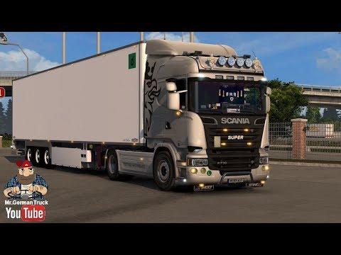 Scania V8 sound v10.0