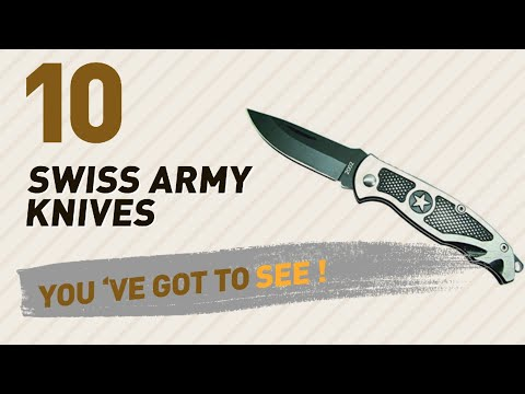 Top 10 Swiss Army Knives Collection // Travel Accessories, India 2017