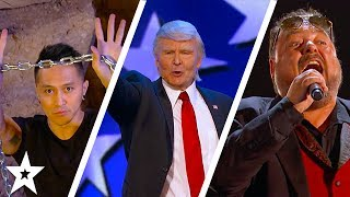 Watch the Judges Cuts on America's Got Talent including Demian Aditya and The Singing Trump! What did you think of the ...