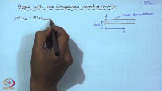 Mod-01 Lec-28 Topic In Beam Vibration - I