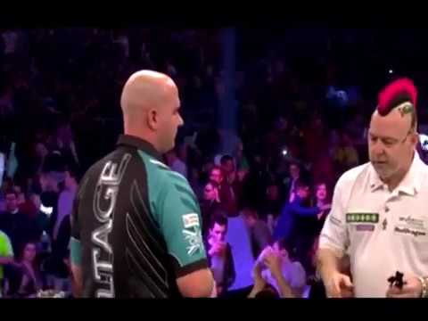 Peter Wright Angry With Rob Cross? - 2018 PDC Premier League