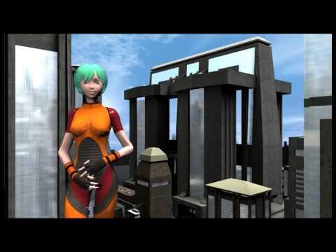 Beuth Magazin - Aiko 3 - DAZ 3D - Lipsync HD