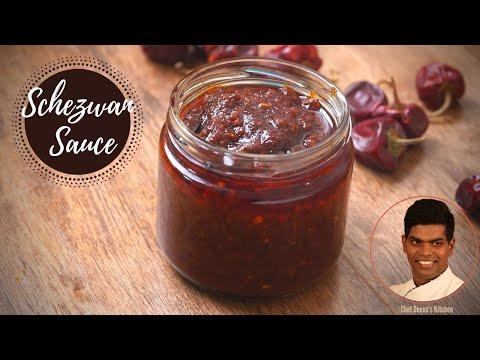 Schezwan Sauce Recipe In Tamil | How to Make Schezwan Sauce CDK #310 | Chef Deena's Kitchen