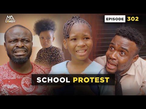 SCHOOL PROTEST - Episode 302 (Mark Angel Comedy)