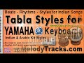 Doori na rahe koi -Tabla Styles Yamaha PSR S910 S710 S550 S650 S950 A2000 Indian Kit Mix Set C