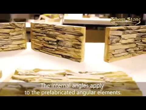 Angular moulds ZIKAM STONE™ for decorative stone. Part 2