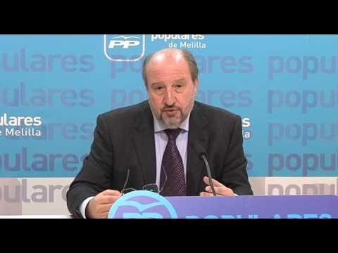 """Quevedo presenta las líneas básicas de la ponencia """"Melilla y su Entorno Natural"""""""