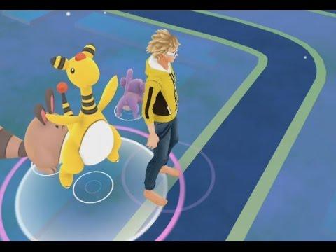 A Wild Ampharos Has Appeared! Pokemon GO Generation 2 Pokedex Entry!
