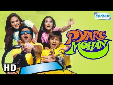 Pyare Mohan (HD+Eng Subs) - Hindi Full Movie - Vivek Oberoi, Fardeen Khan, Amrita Rao - Best Movie