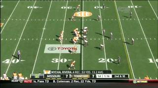 Zaviar Gooden vs Tennessee (2012)