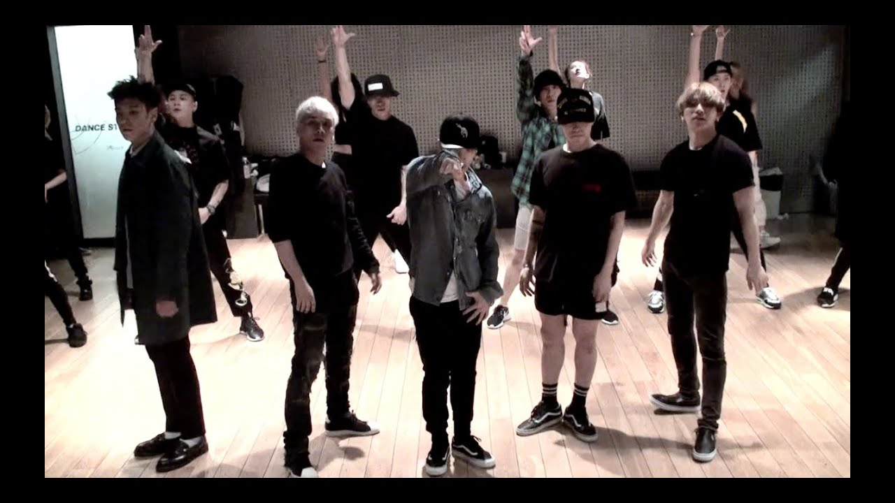 "DANCE PRACTICE MVS OF BIG BANG'S ""BANG BANG BANG"""
