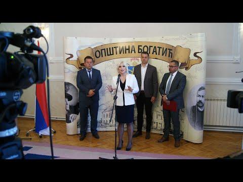 Министарка Михаиловић у посети општини Богатић