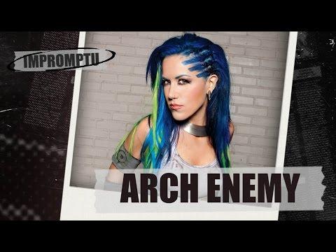 Интервью с Arch Enemy. Экспромт