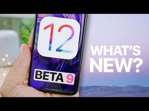 What's New in iOS 12 Beta 9