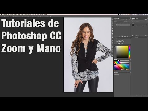 Tutoriales Photoshop CC - Zoom Y Mano