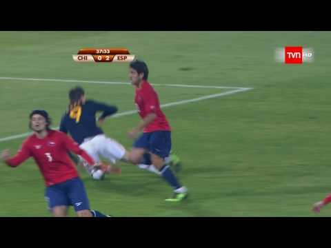 Fernando Torres 'El niño' recibe críticas desde Chile por la jugada que supuso la expulsión de Marco Estrada (Mundial de fútbol Sudáfrica 2010)