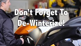 9. How To De-Winterize Your Sea-Doo 4-TEC Jet Ski