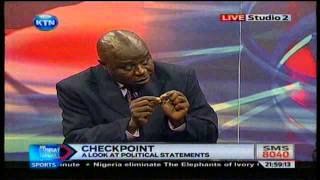 News: Check Point: Kenya Politians On The Spot